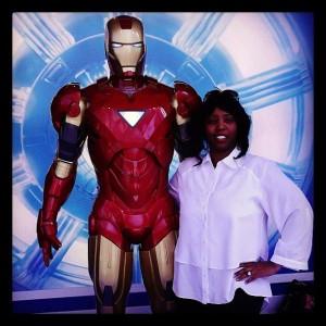 ME and Iron Man