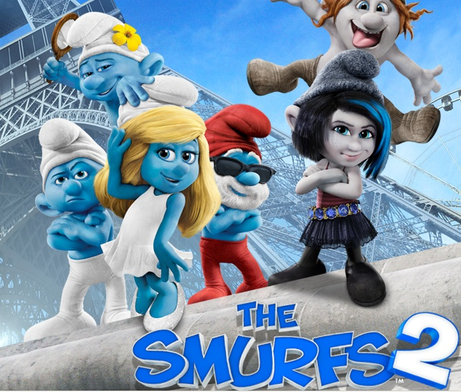 Smurfs 2 logo