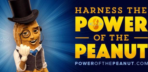 I'm it for the long haul. Harness the #PowerofthePeanut #sponsored