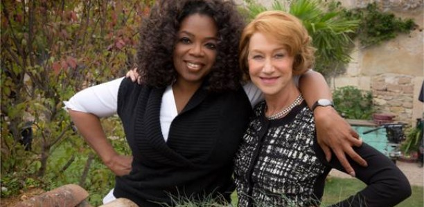 Production has begun on the #100Foot Journey! Oprah's in the director's seat!