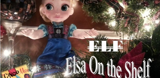 Are you ready to see Frozen? #ElsaOnTheShelf #DisneyFrozenEvent