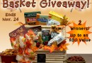 Enter to win a Bountiful Thanksgiving Basket from @aagb_inc!