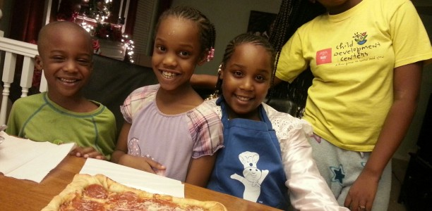 Family Night with Pizza and @Pillsbury! #PBFamilyNight
