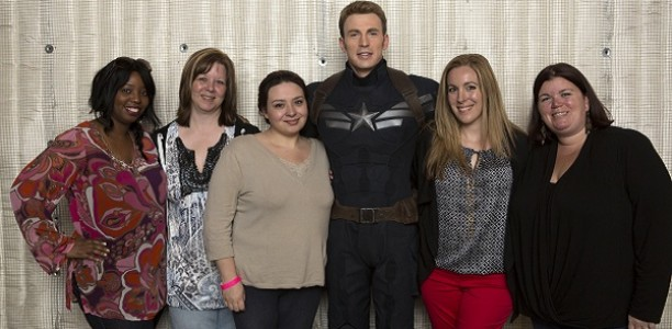 Exclusive: My Captain America set visit and pic with Chris! #CaptainAmerica