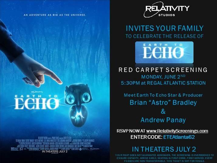 Earcth Echo Red carpet screening