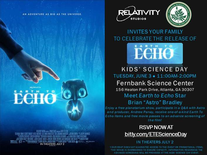 Earcth to Echo science day