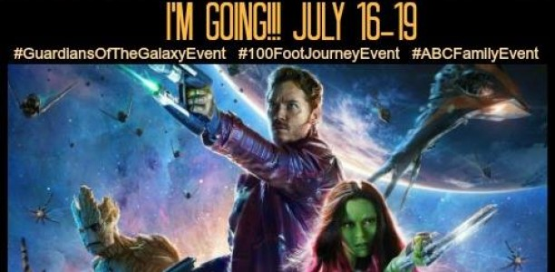 A Journey into a Galaxy Far Away in LA! #GuardiansoftheGalaxyEvent