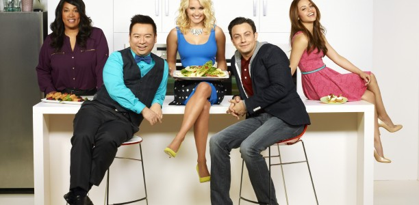 Breakfast with the #YoungandHungry Bunch! #ABCFamilyEvent