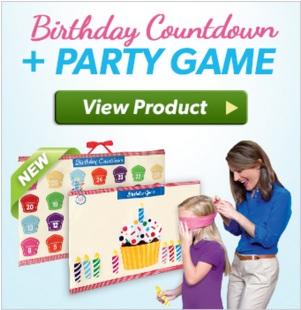Birthday calendar Elf on Shelf