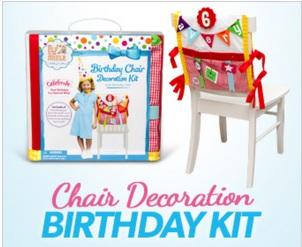 Birthday chair Elf on Shelf