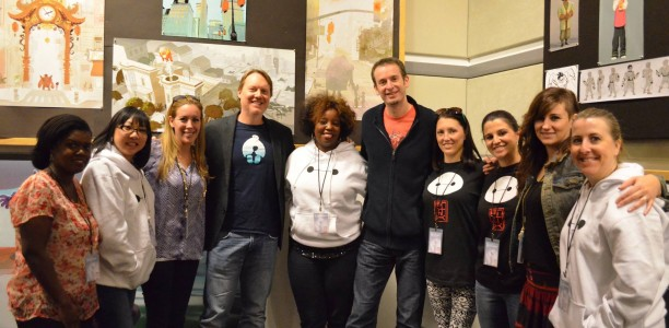 A BIG day with #BIGHERO6 filmmakers and Baymax! #BigHero6Event