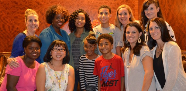 An Interview with @FunnyBlackDude and the kids from @black_ishABC #ABCTVEvent