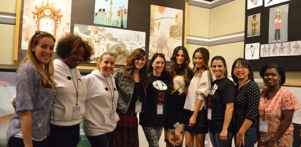 An interview with Jamie Chung and Genesis Rodriguez aka GoGo and Honey Lemon #BigHero6Event
