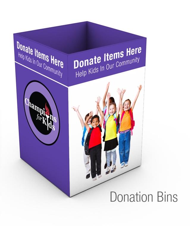 CFK Donation Bin 2015