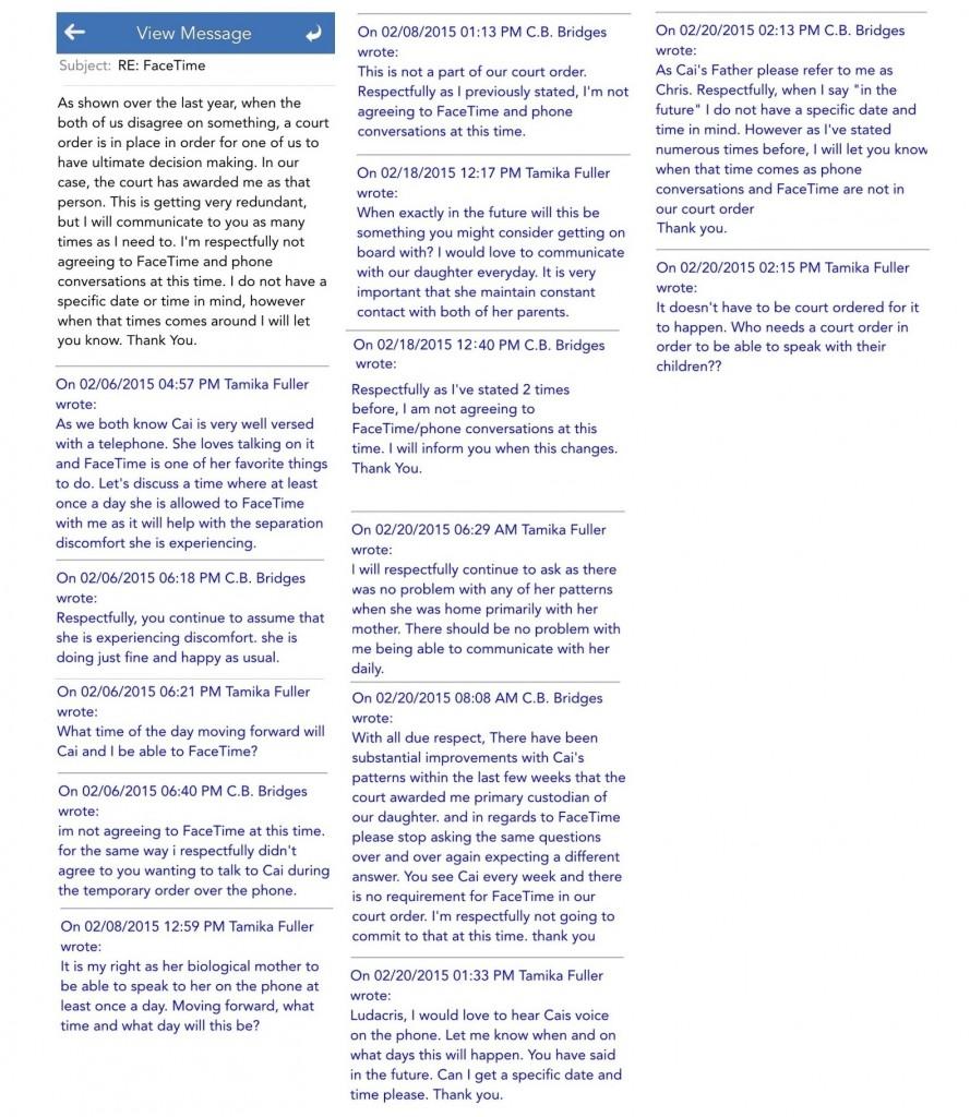 Ludacris_Facetime Correspondence