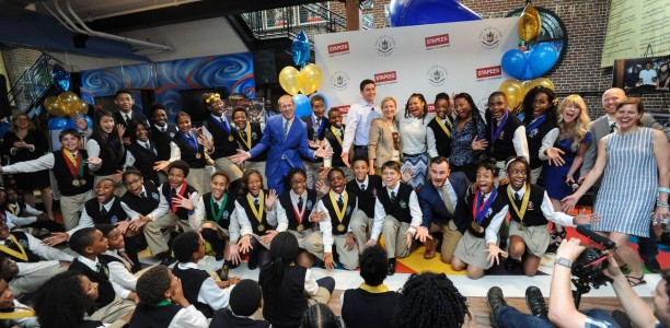 Ron Clark Academy Students Create Innovative Designs Powered by Staples #MakeMoreHappen
