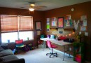 How to Re-purpose a Room & Make a Kids Homework Retreat For Pennies Or Less
