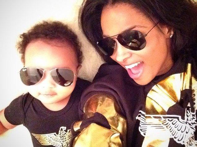 Ciara-Selfie-With-Son
