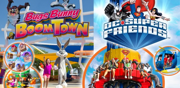 Check out the new Bugs Bunny Boomtown at Six Flags Over Georgia!