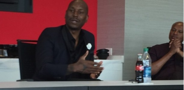 Film & Music Star Tyrese Gibson Joins 2016 Coca-Cola Pay It Forward Program to Help Inspire Teens