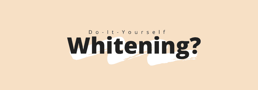 do it yourself whitening