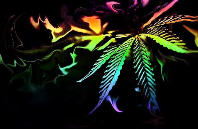 artists using cannabis