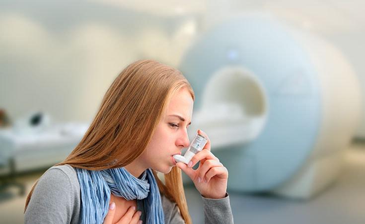 Posso fazer ressonância magnética se tenho asma?