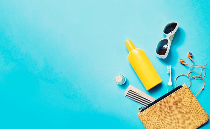Esteja ensolarado ou nublado, não esqueça o protetor solar!