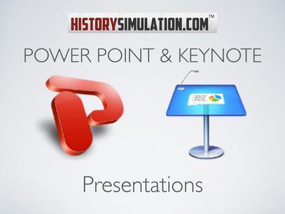 History Presentations