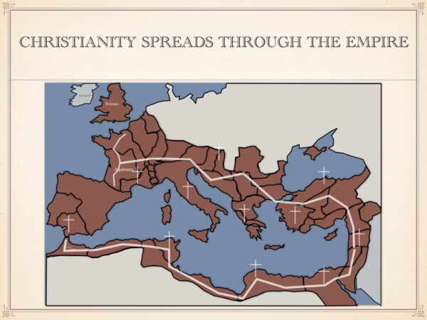 Christianity Spreads Through The Empire