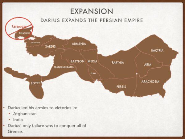 Persian Expansion