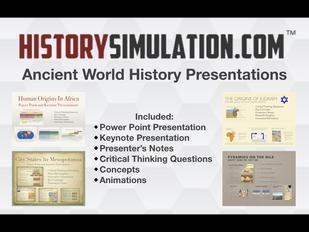 Ancient World History Presentations