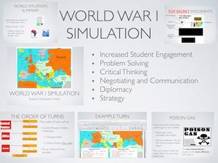 World War 1 Map Activity