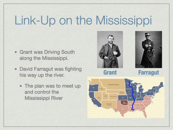 Link Up On The Mississippi