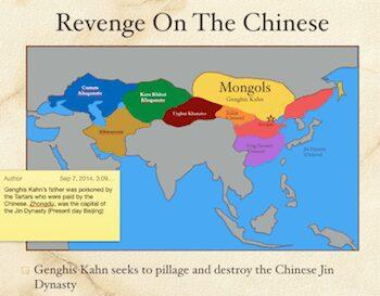 Revenge On The Chinese
