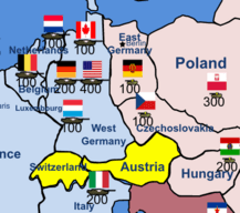 Armored Divisions in East and West Germany