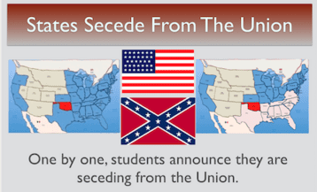 States Secede from the Union