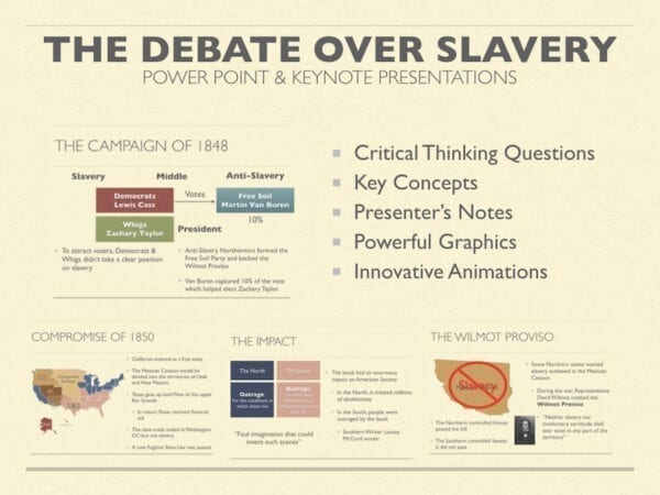 The Debate Over Slavery Presentation