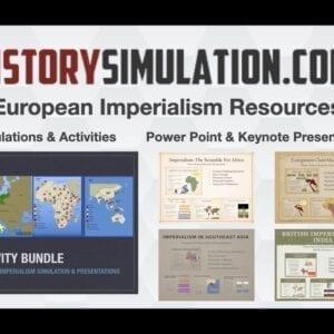 Imperialism Activity Bundle
