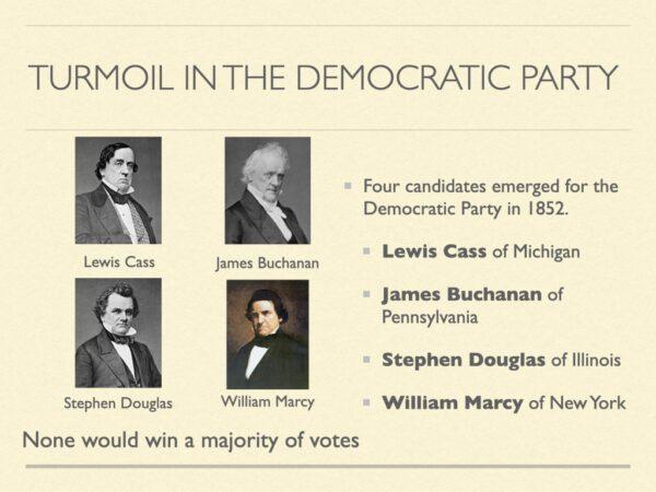 Turmoil In The Democratic Party