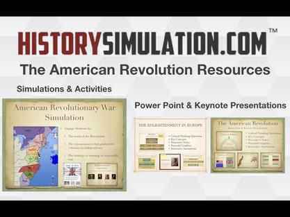 American Revolution Resources