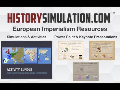 European Imperialism Resources