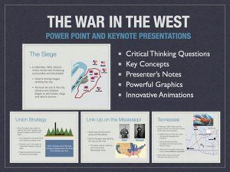 Civil War: War In The West Presentation