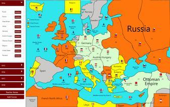 World War 1 Map Activity Online War Map