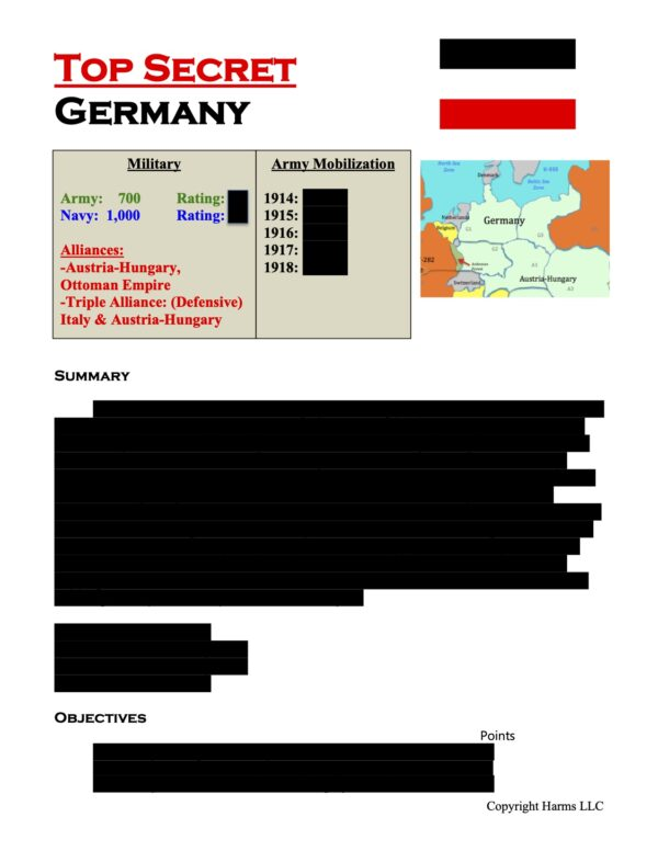 Germany Top Secret: Blacked Out