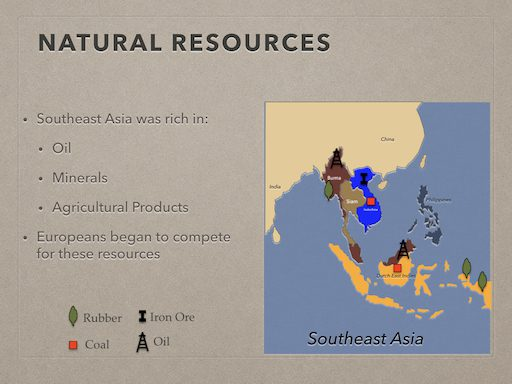 Natural Resources In Southeast Asia