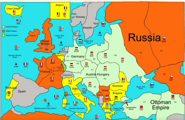 WWI Online Map