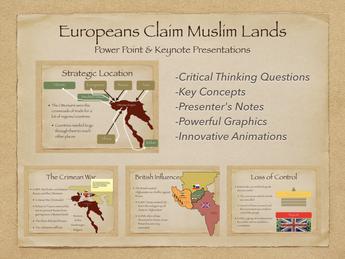 Imperialism: Europeans Claim Muslim Lands