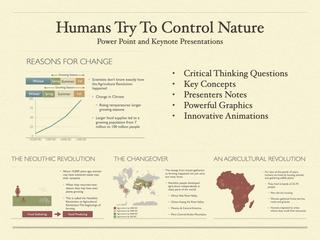 Humans Try To Control Nature Presentation