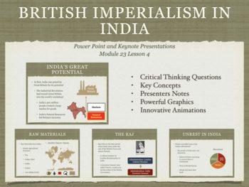 British Imperialism In India Presentation